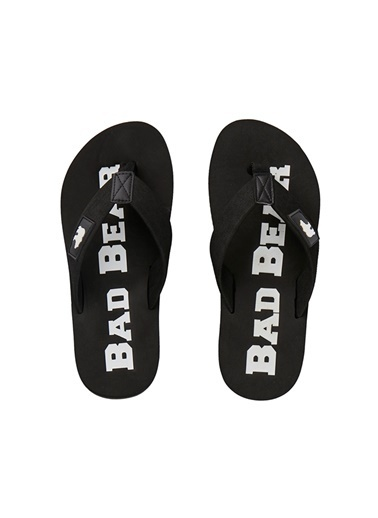 Bad Bear Plaj Terliği Siyah